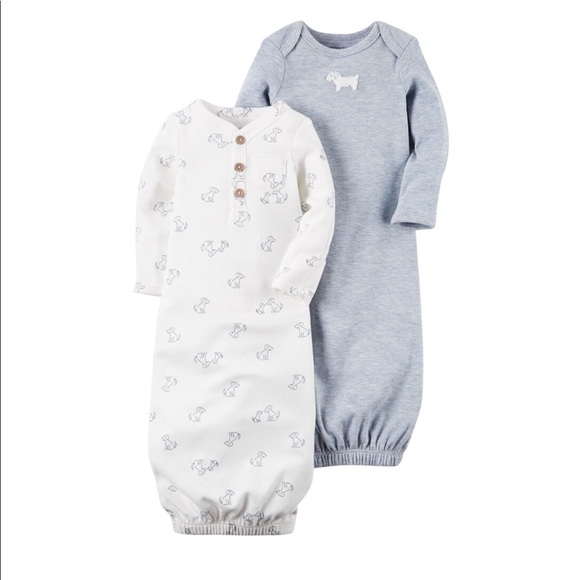 f398302ea487 Carter's Pajamas | Carters Baby Boys 2pack Babysoft Sleeper Gowns ...